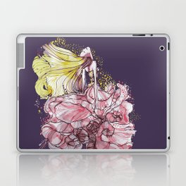 Flowergirl Laptop & iPad Skin
