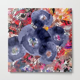 Floral abstract(63) Metal Print