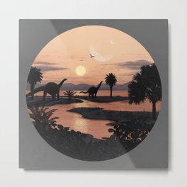 Jurassic Beach Metal Print