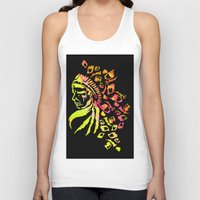 indie Tank Tops featuring Midnight Indie by trendaholic