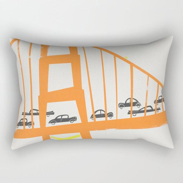 Golden Gate Bridge Rectangular Pillow