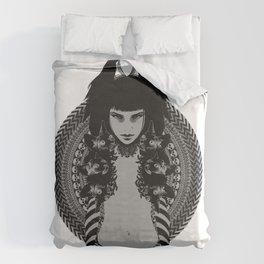 Felinae Duvet Cover