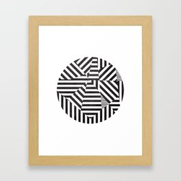 Dazzle 02. Framed Art Print