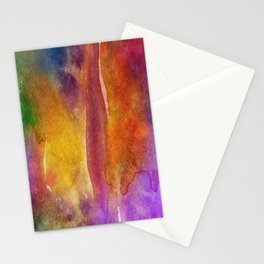 Abstract Watercolor Beautiful P 268 Stationery Cards