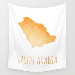 Saudi Arabia Wall Tapestry