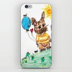 ::  Honey Rabbit on the Knoll :: iPhone & iPod Skin
