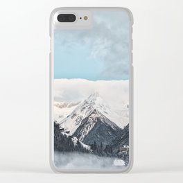 winter scene #society6 #decor #homedecor #buyart Clear iPhone Case