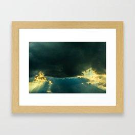 Every morning. Framed Art Print