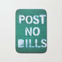 286. Post no Bills, New York Bath Mat