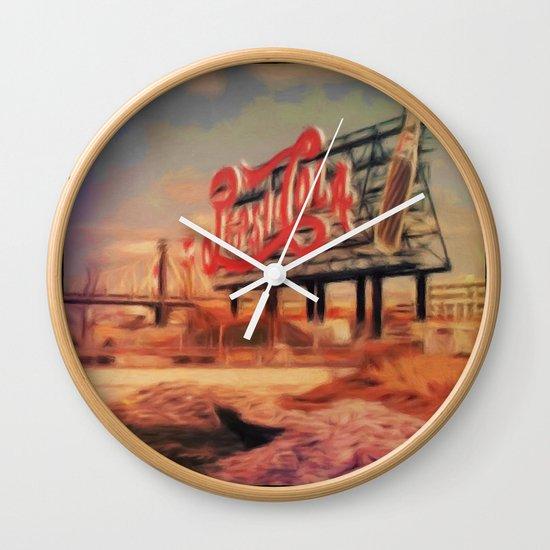 Urban detail Wall Clock