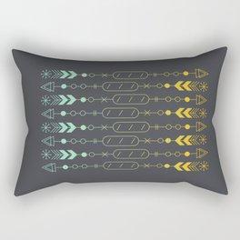 Bread and Arrow Rectangular Pillow