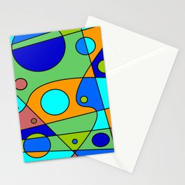 Abstract #72 Stationery Cards