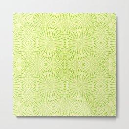 Impulse Green art print Metal Print