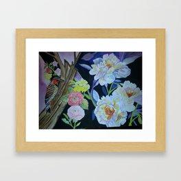Beauty in the Woods Framed Art Print