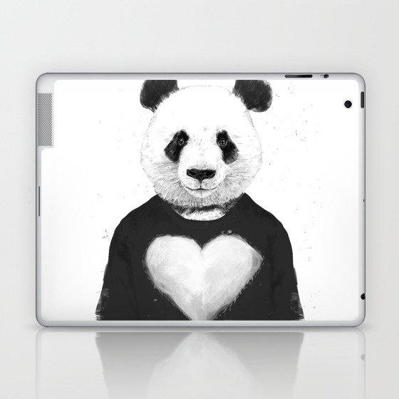 Lovely panda Laptop & iPad Skin