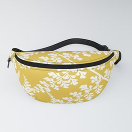 fern yellow Fanny Pack