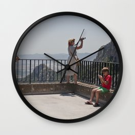 Family Fun Wall Clock