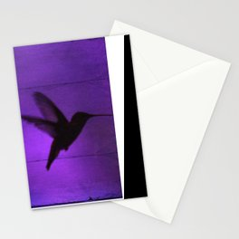 Razzleberry Hummingbird by CheyAnne Sexton Stationery Cards