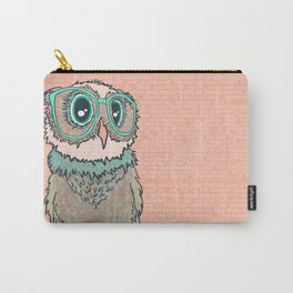 Owl wearing glasses II Carry-All Pouch