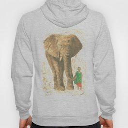 The elephant and the child queen Hoody