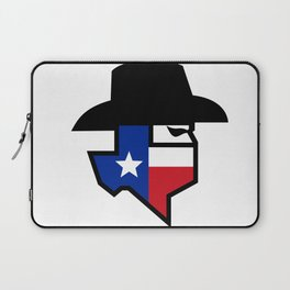 Bandit Texas Flag Icon Laptop Sleeve