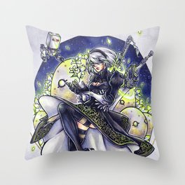 NieR:Automata - 2B Throw Pillow