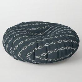 Minimalist Black White Design Floor Pillow