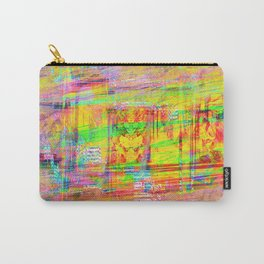 The False God of Glitch Carry-All Pouch