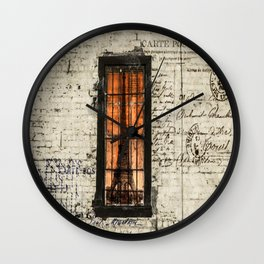 Dreaming of Paris Wall Clock