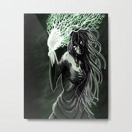 The sorceress Metal Print