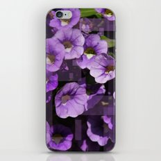 Purple Flower Kaleidoscope iPhone & iPod Skin