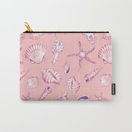 sea shells pattern Carry-All Pouch