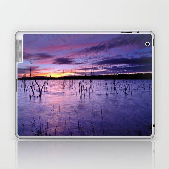 Purple waters Laptop & iPad Skin