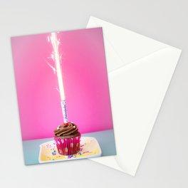Happy Birthday Cupcake Stationery Cards