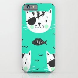 cats in the sea iPhone Case