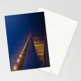Humber bridge twilight Stationery Cards