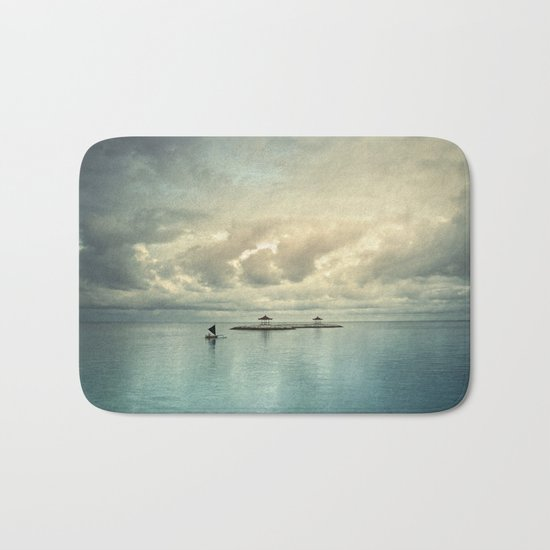 the art of silence Bath Mat