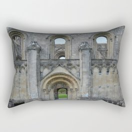 Glastonbury Abbey 1 Rectangular Pillow