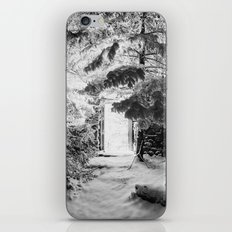 Frozen Light iPhone & iPod Skin