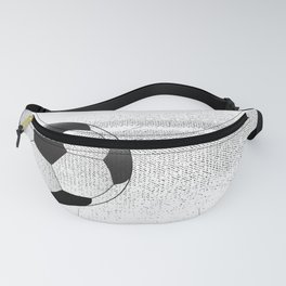Moving Football Fanny Pack