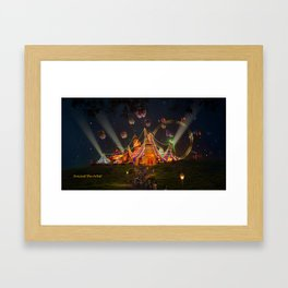 Circus from Vincent the Artist Framed Art Print