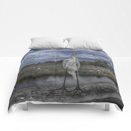 Great Egret Comforters