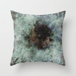 Decomposed Emotion Throw Pillow