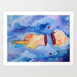 unapologetic artwork Art Print