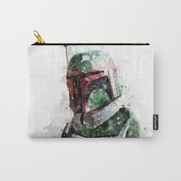 Boba Fett watercolor Carry-All Pouch