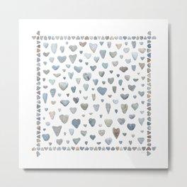 Heart rocks Metal Print