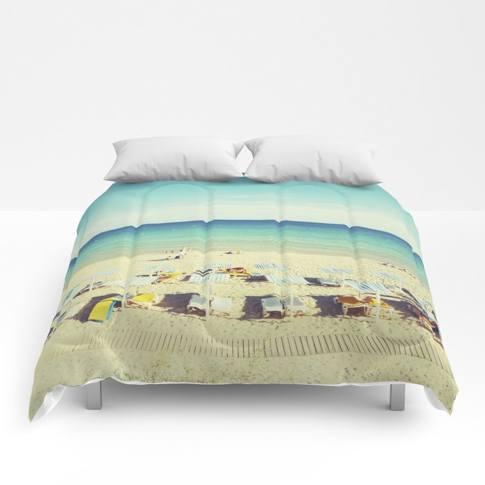 """Beach"". Summer Comforters"