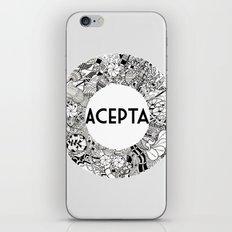 Acepta iPhone & iPod Skin