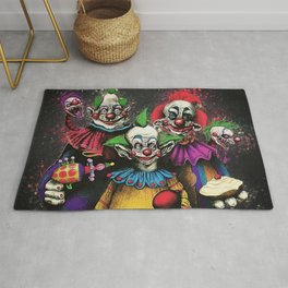 Killer Klowns From Outer Space Rug
