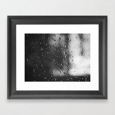 Rain, Rain, Don't Go Away Framed Art Print